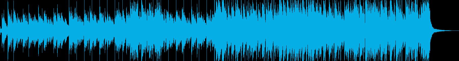 スライドバーを使ったアコギのブルース曲 の再生済みの波形