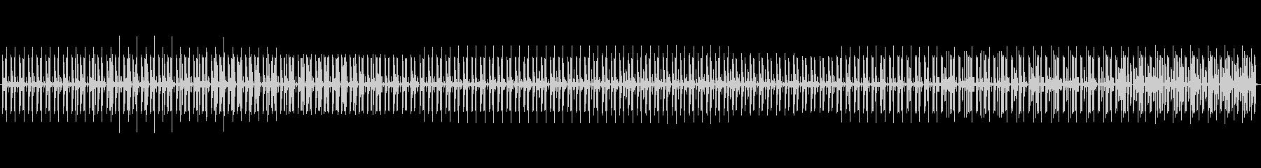 忍びこむドラムループ、ゆっくり静かにの未再生の波形