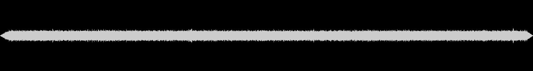 排水路の水が流れる音 の未再生の波形