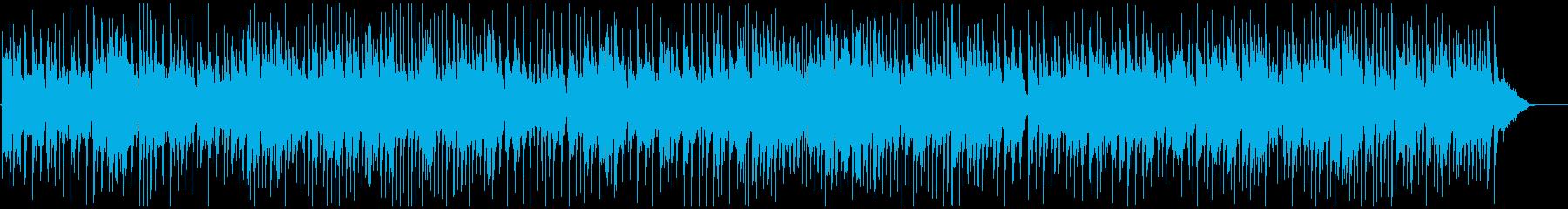 パーティの席にしゃれたジャズBGMの再生済みの波形