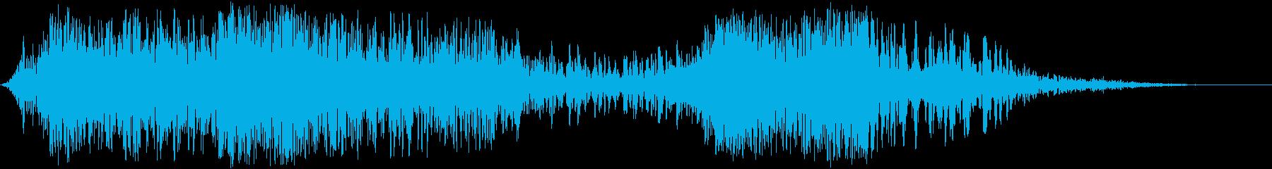 Action Whoosh FX 05の再生済みの波形