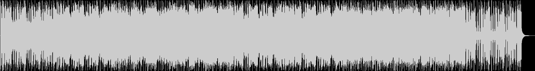 荒っぽいロック×POPなメロディの未再生の波形