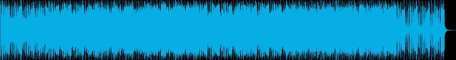 荒っぽいロック×POPなメロディの再生済みの波形
