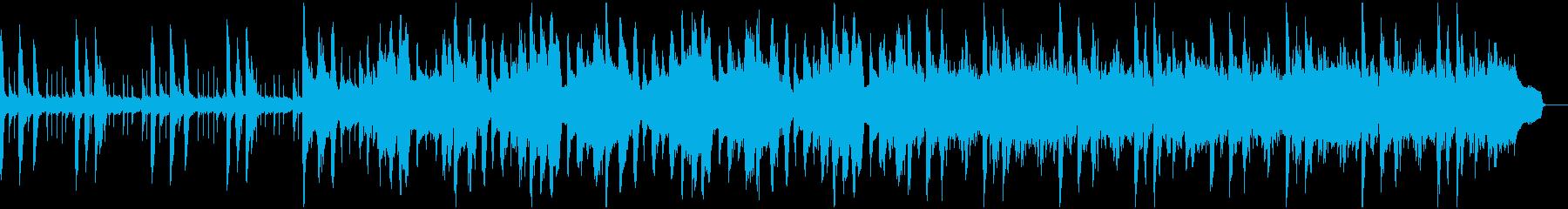 OPに使えるノリの良い軽快なピアノ曲の再生済みの波形
