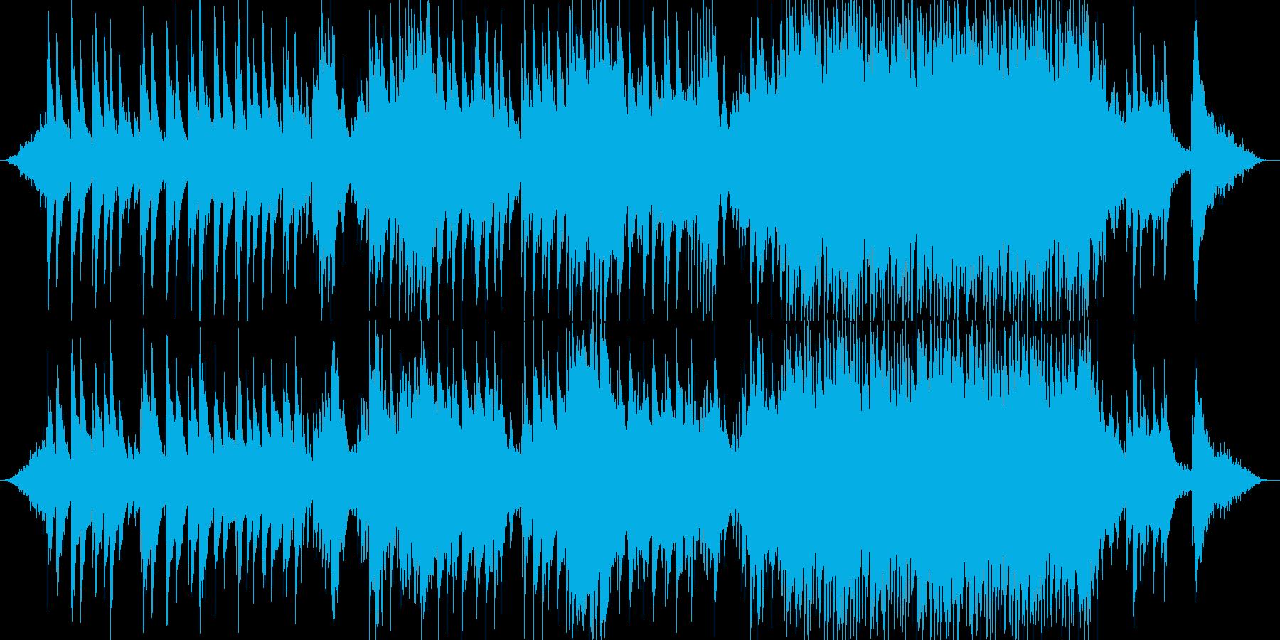 Aギターメイン癒し系ヒーリングサウンドの再生済みの波形