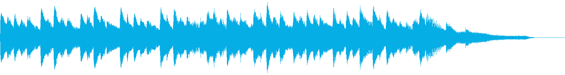 Sparkly BGM's reproduced waveform