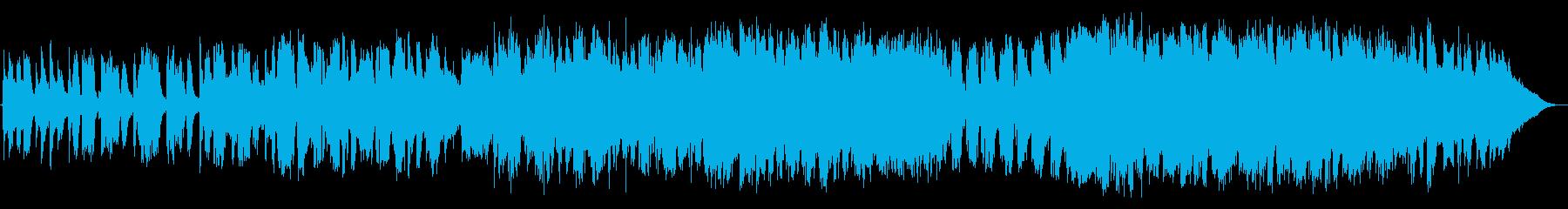 月の再生済みの波形