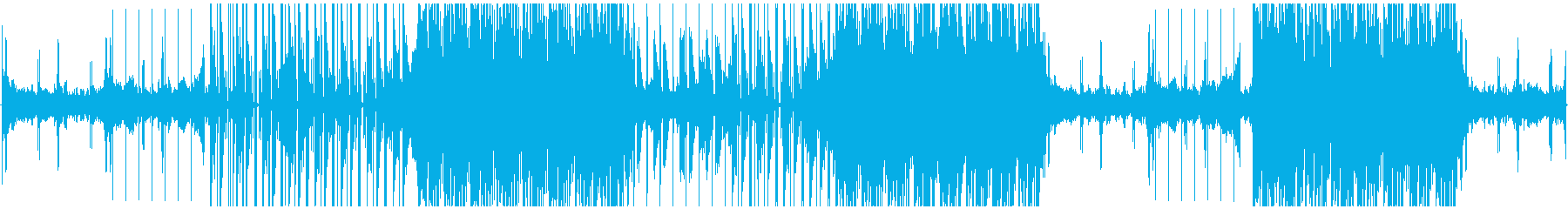 おしゃれな雰囲気のエレクトロの再生済みの波形