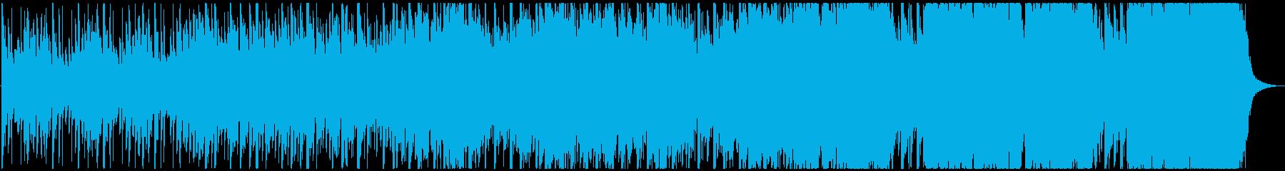 【ハーフサイズ】CMや結婚式 壮大ポップの再生済みの波形