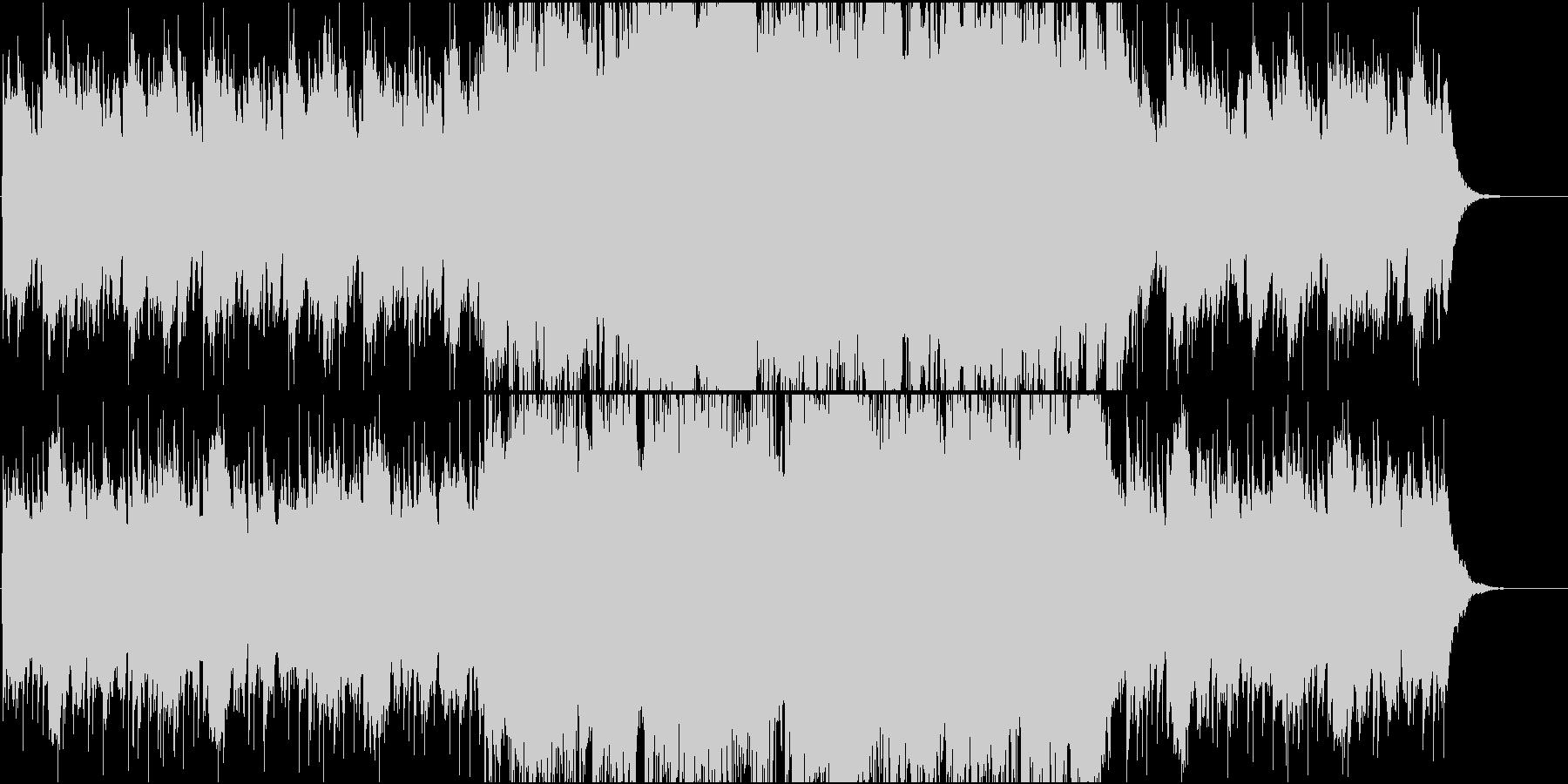 優しいピアノポップBGMの未再生の波形