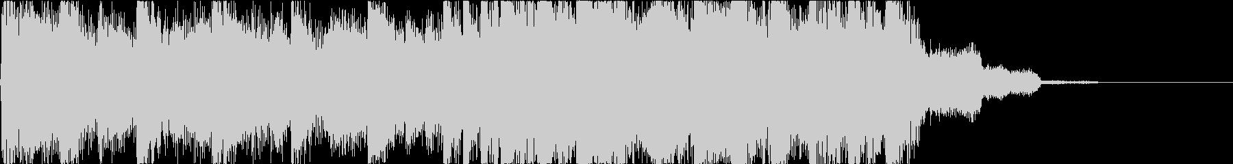 清涼感あるポップなギタージングル_短2の未再生の波形