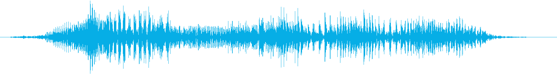 空腹でお腹がグウと鳴る音04の再生済みの波形