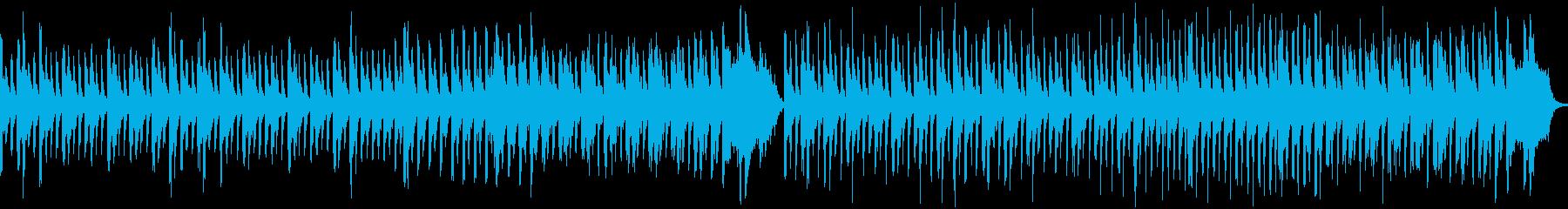 ほのぼのした日常とグロッケン(メロ無し)の再生済みの波形