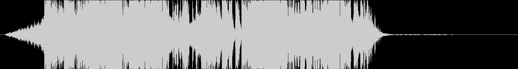 DUBSTEP クール ジングル176の未再生の波形