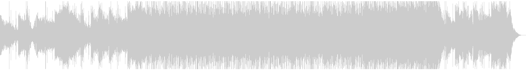 ド迫力な和風エピックBGMの未再生の波形