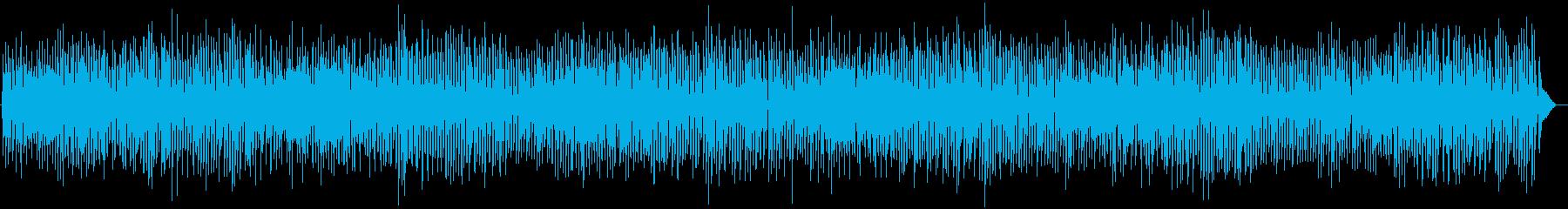 ズンチャズンチャ哀愁感ジャズピアノアコギの再生済みの波形