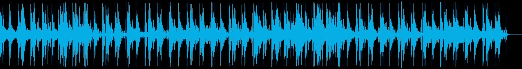 ゆっくりでヘヴィなシネマティックドラムの再生済みの波形