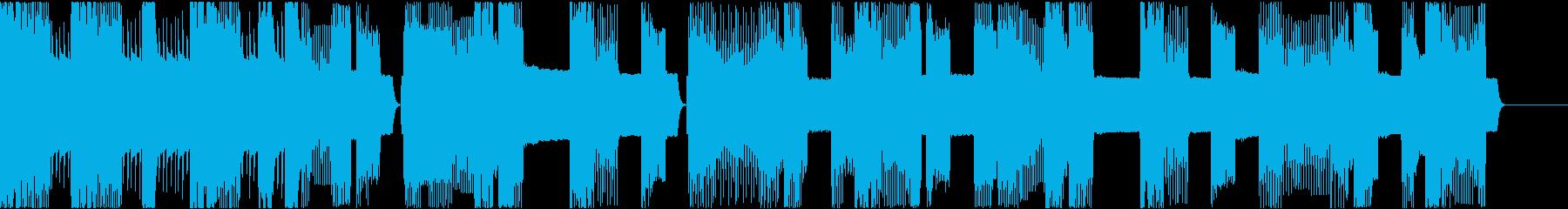 おバカな場面にピッタリなピコピコジングルの再生済みの波形