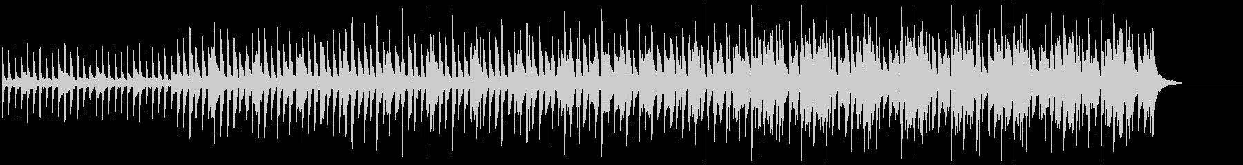 【ホラー】不気味なピアノ【サスペンス】の未再生の波形