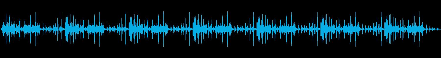 ギアの回転でクリックする機械的ファ...の再生済みの波形