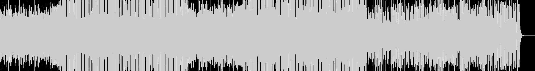 サイバーパンクなアンビエントビートの未再生の波形