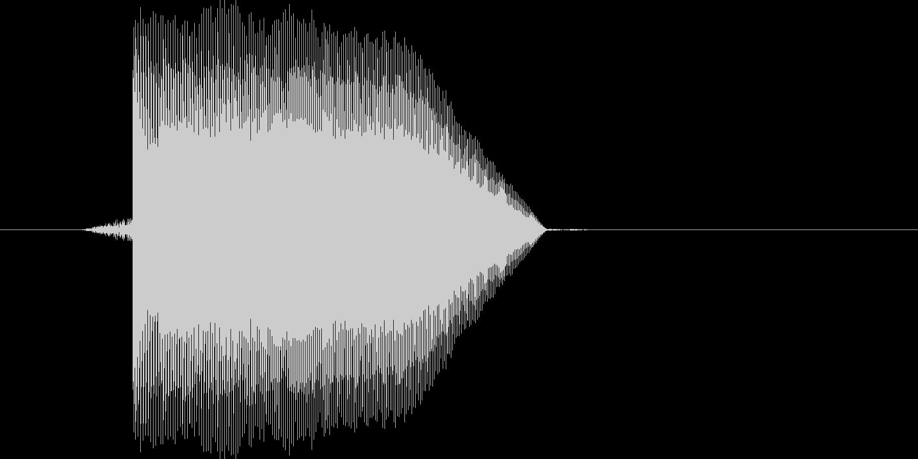 ゲーム(ファミコン風)ジャンプ音_001の未再生の波形