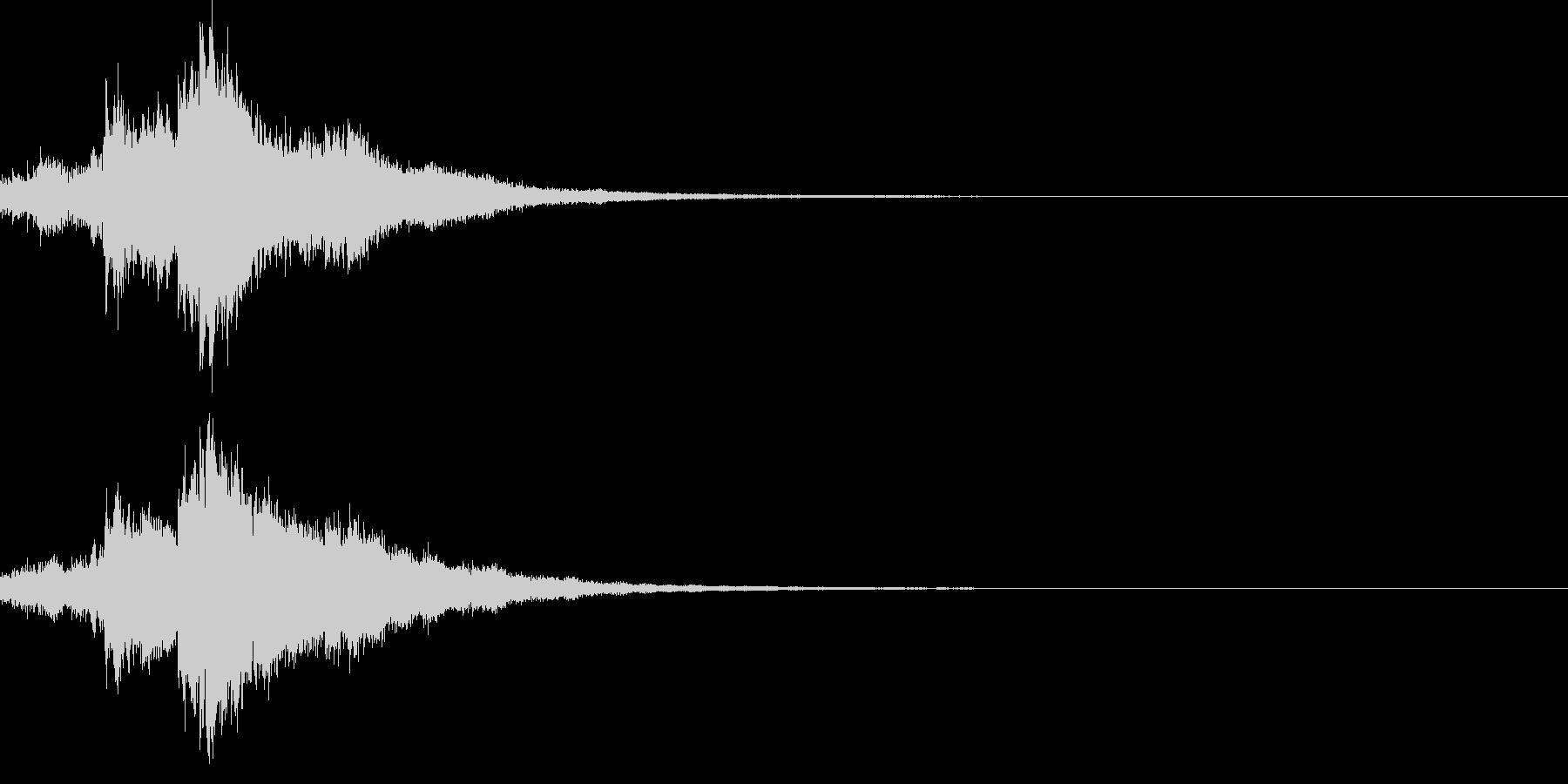 キラキラ♪クリア,達成,回復等に最適26の未再生の波形