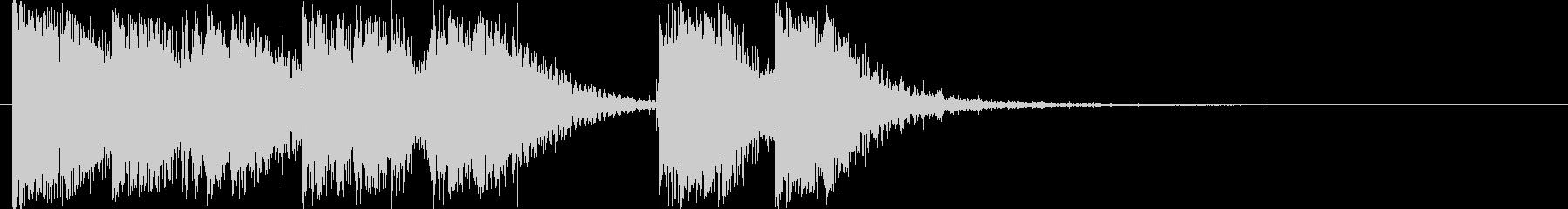 爆竹/銃撃戦「パンパンパパン」3秒の未再生の波形
