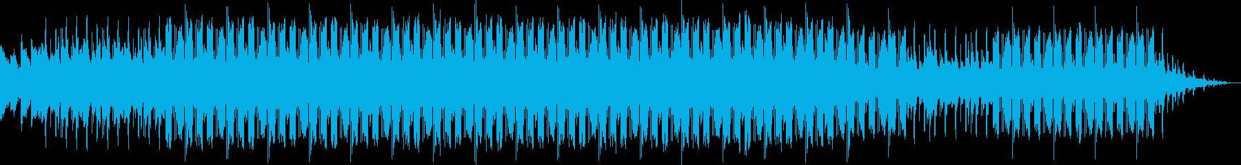 ゆっくりとしたchill beats の再生済みの波形