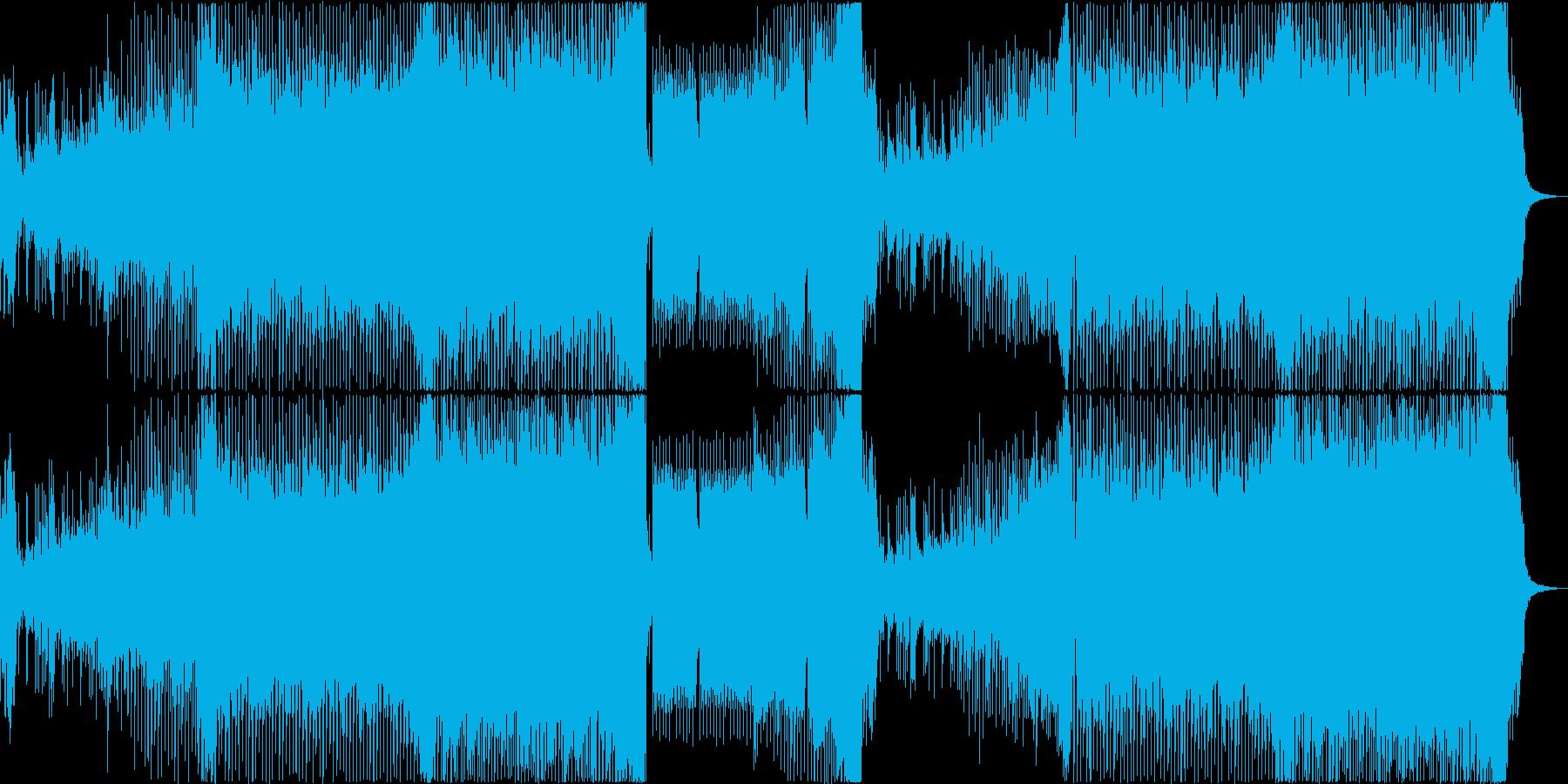 EDM ポジティブ 前進 スポーツ 車の再生済みの波形
