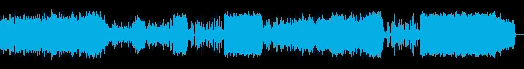 結婚定番曲がモチーフの華やかな弦&ピアノの再生済みの波形
