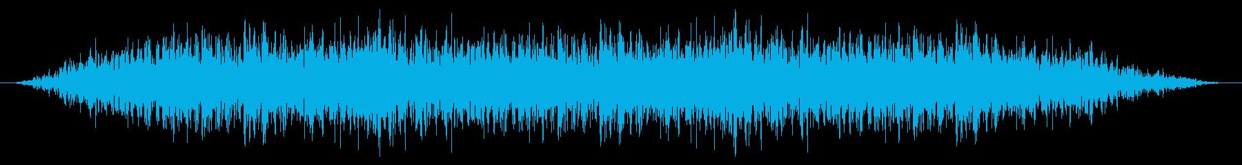 SNES サッカー01-08(歓声)の再生済みの波形