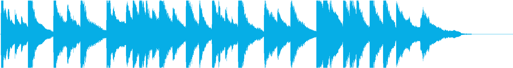 企業VP45 16bit48kHzVerの再生済みの波形