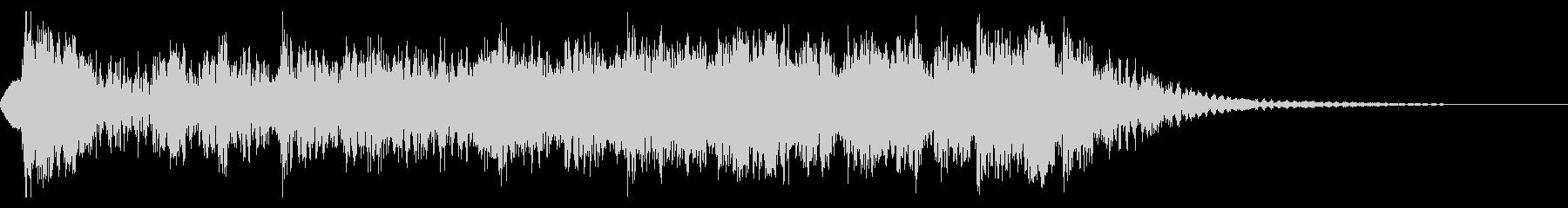 YouTube尺八による和風ジングル02の未再生の波形