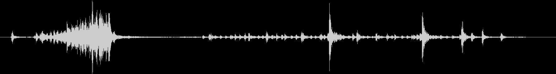 1950ロータリー電話:ダイヤル2...の未再生の波形