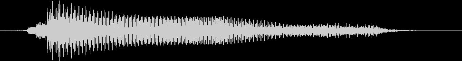 ダークな雰囲気のカントリーロックの未再生の波形
