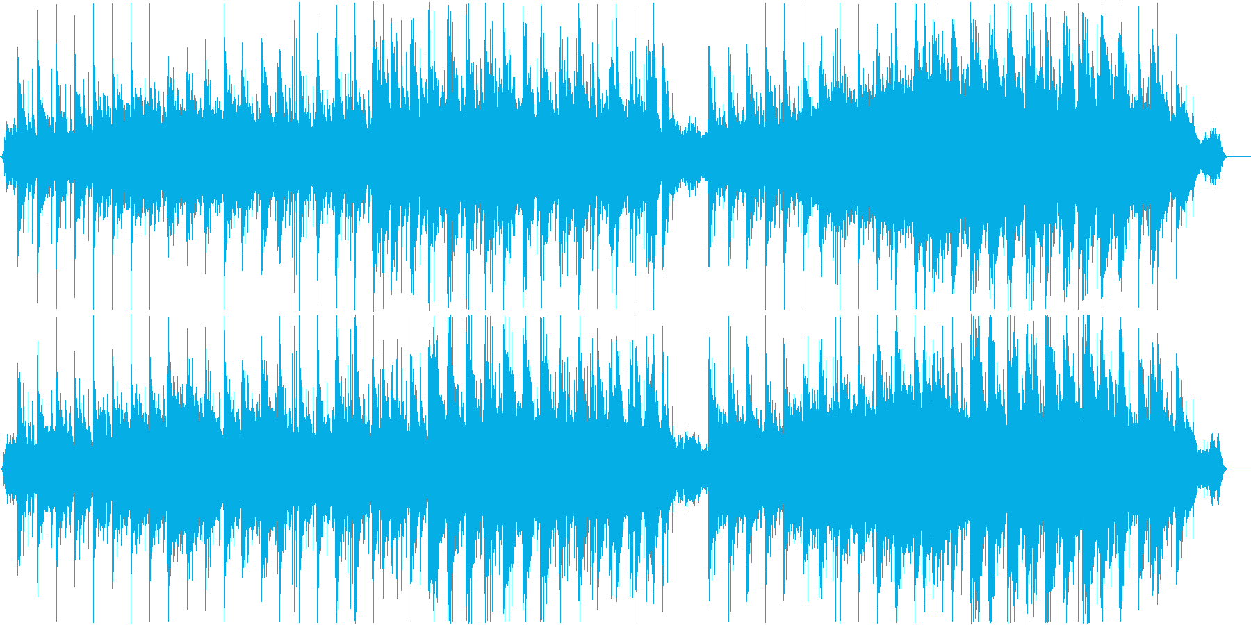 願いが叶う龍神の滝の再生済みの波形