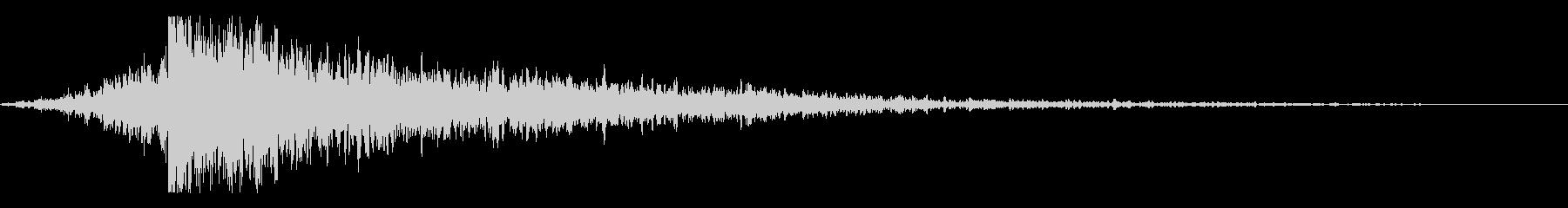 ホラー系アタック音79の未再生の波形
