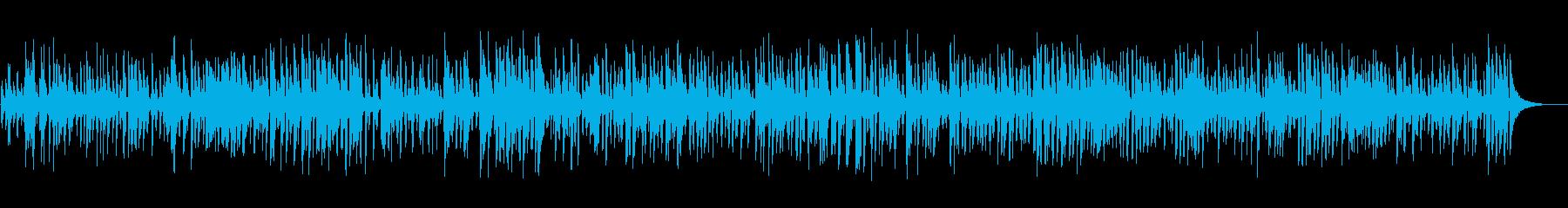 レトロジャズピアノトリオライブジャズ演奏の再生済みの波形