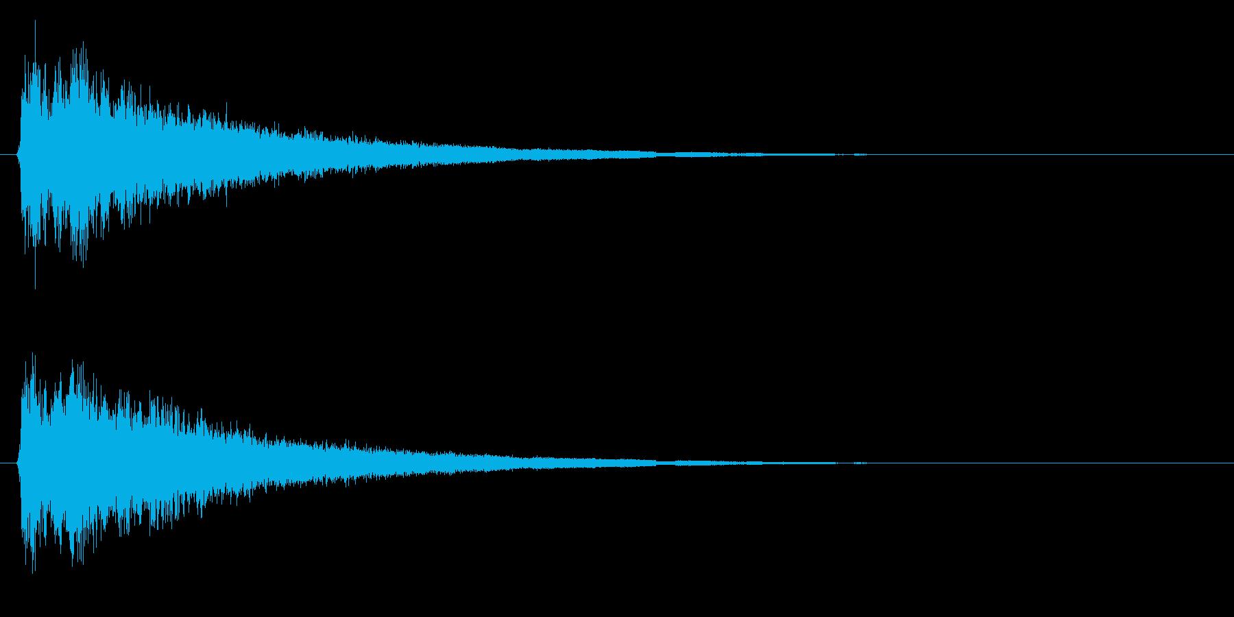 ピュルルル…↑(場面転換、上昇、回復)の再生済みの波形