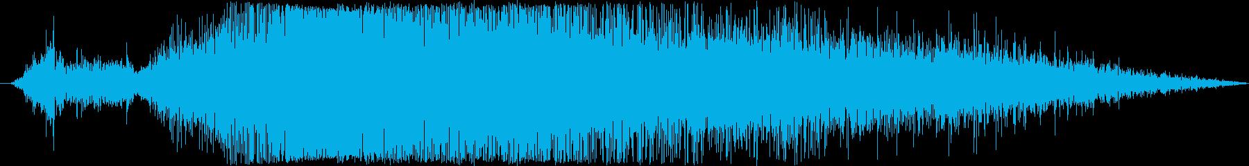 スペースシャトル:遠く離れた離陸、...の再生済みの波形