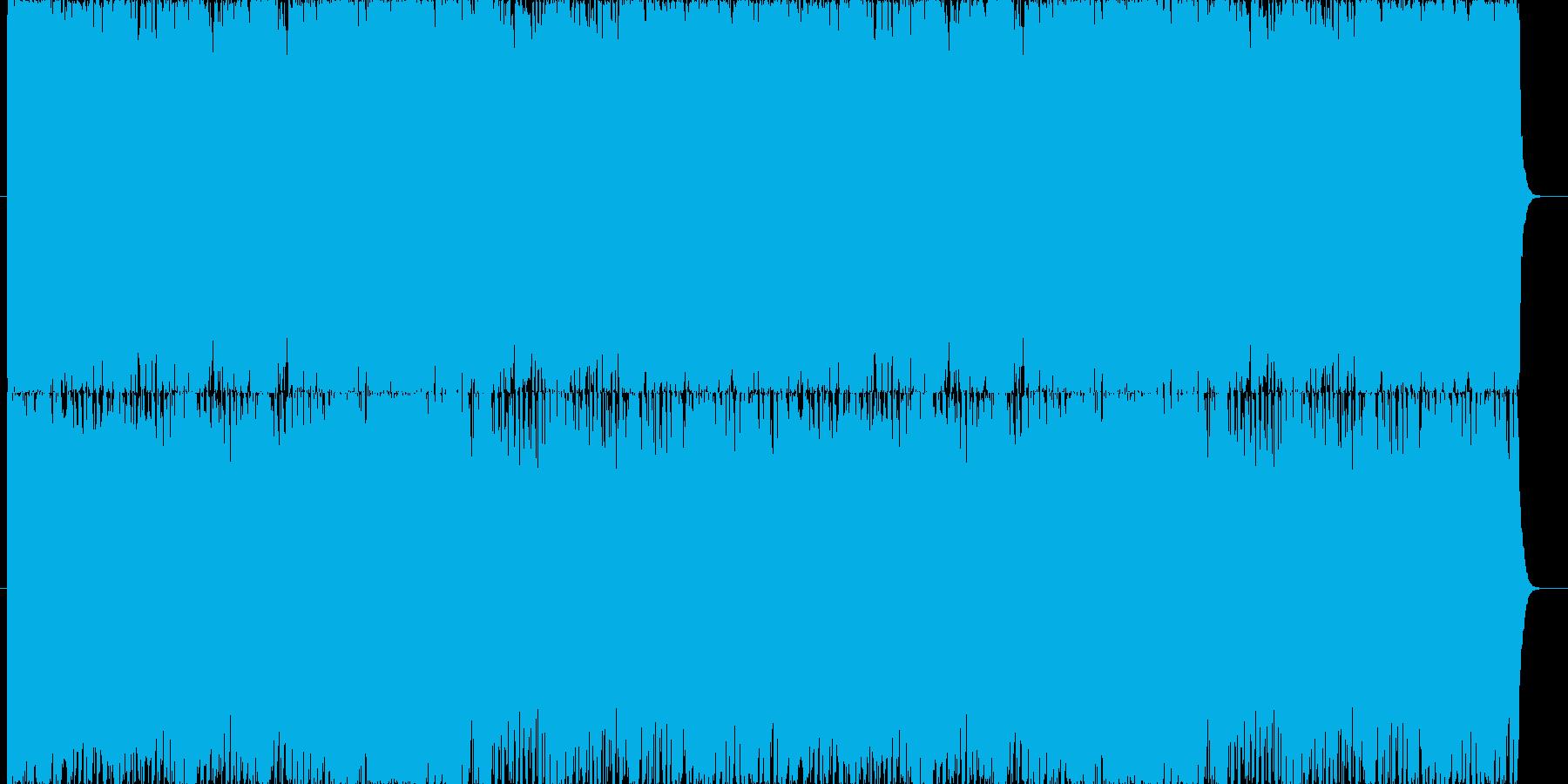 派手なオーケストラのバトル曲の再生済みの波形
