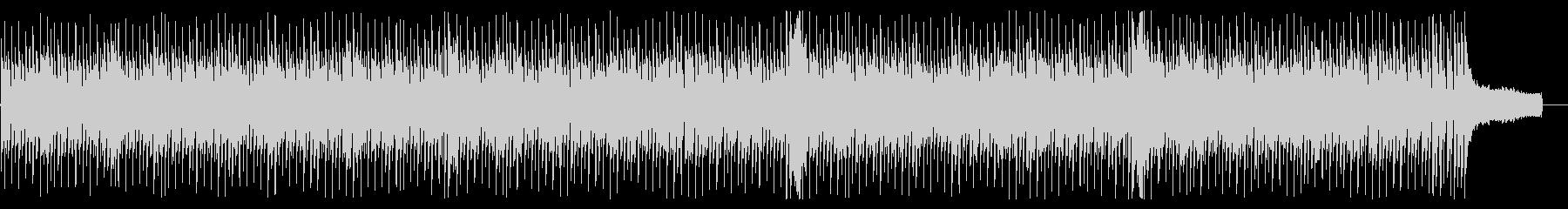 ブルース進行に則った電子音楽の未再生の波形