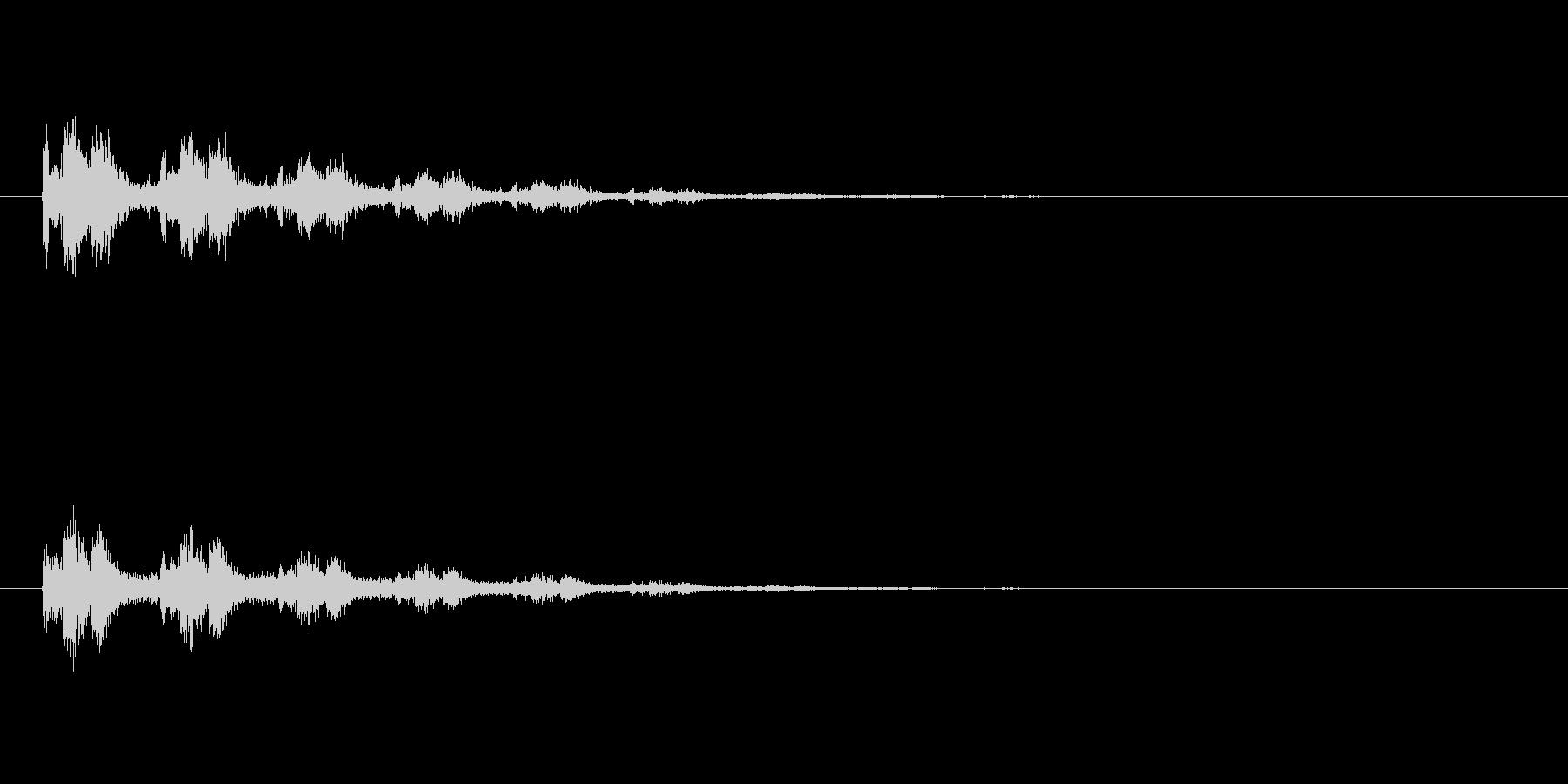 【スポットライト03-2】の未再生の波形