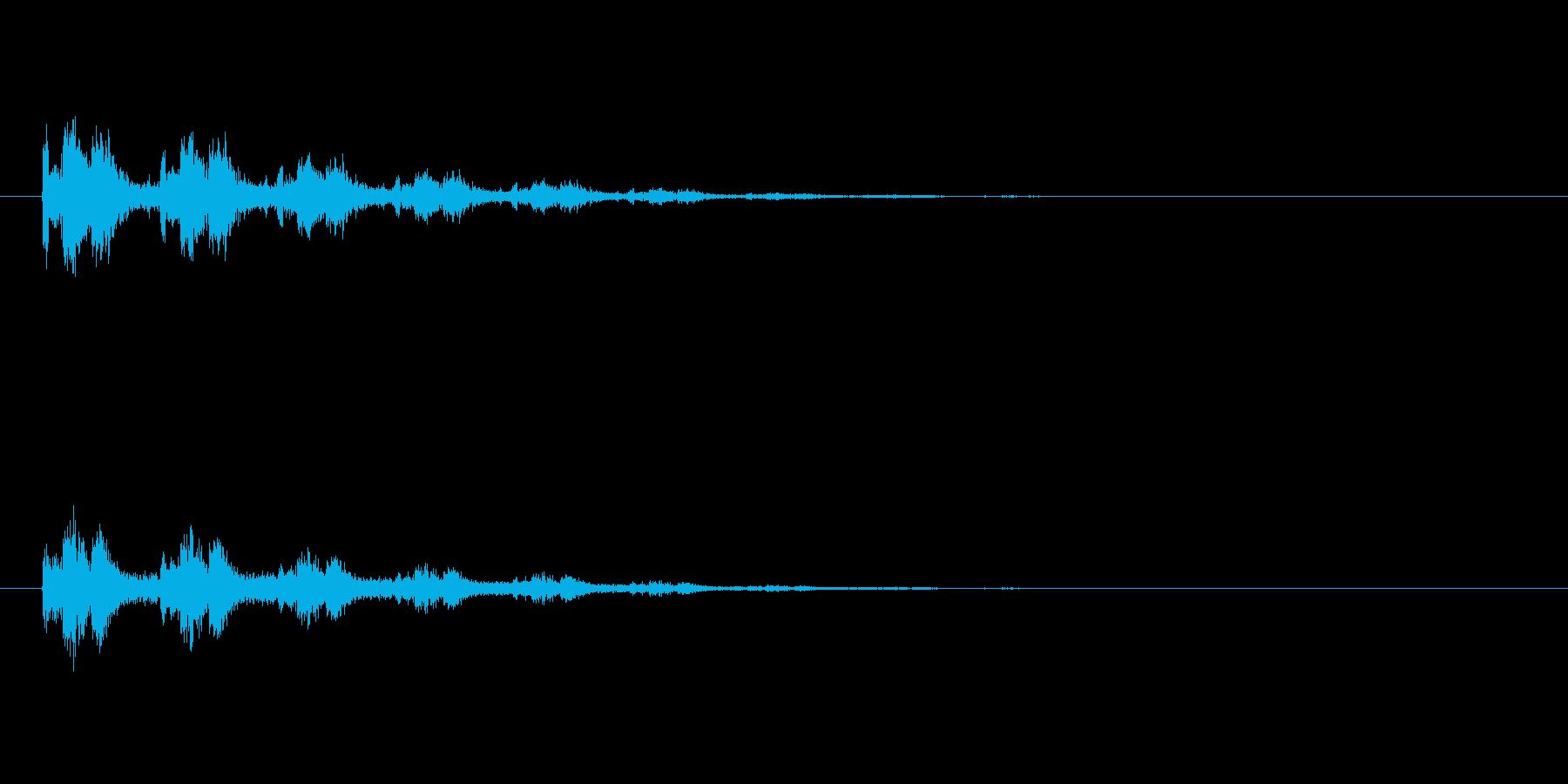【スポットライト03-2】の再生済みの波形