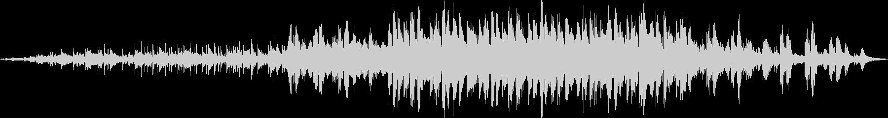 木琴の音から始まる壮大でかわいい曲の未再生の波形