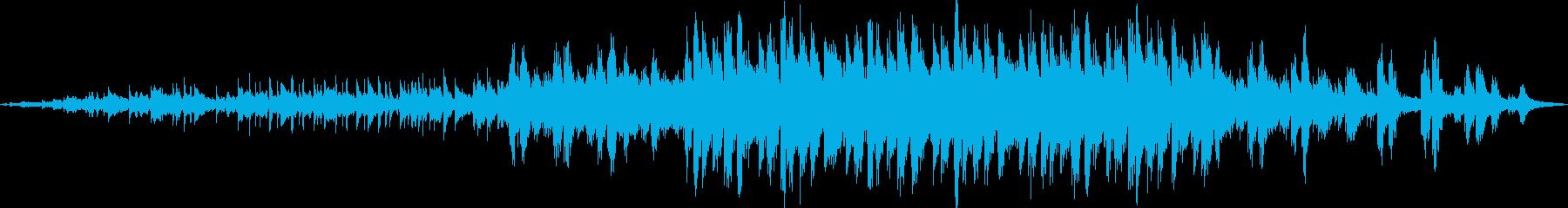 木琴の音から始まる壮大でかわいい曲の再生済みの波形