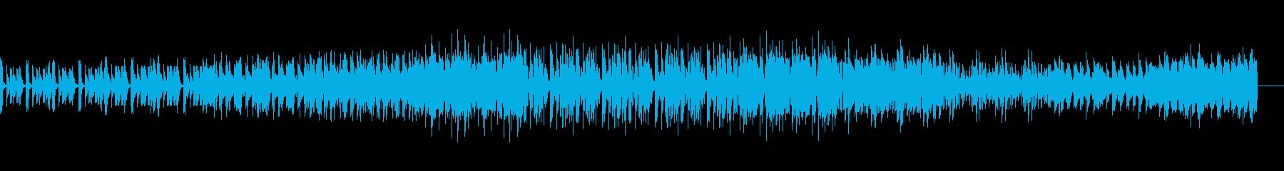 不気味なアンビエントハウスの再生済みの波形