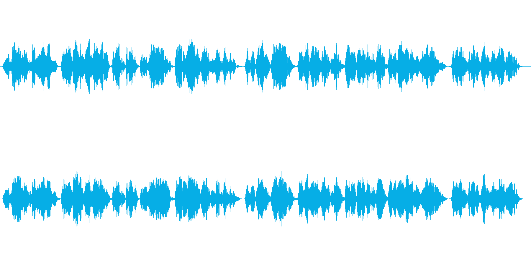 しっとり落ち着いた印象のフルート独奏曲の再生済みの波形