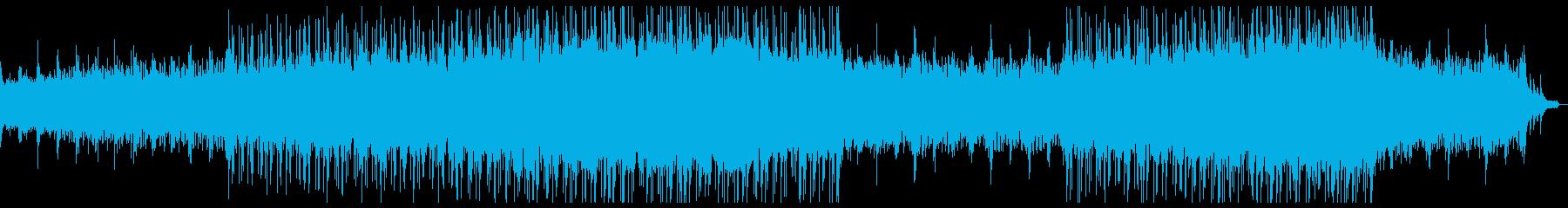 切ない感動的なチルアウトシネマティック。の再生済みの波形